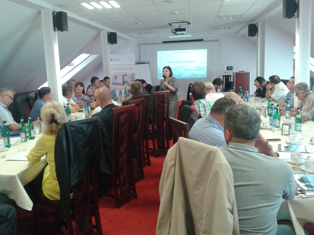 Podczas wykładu p. Marii Bakalarczyk