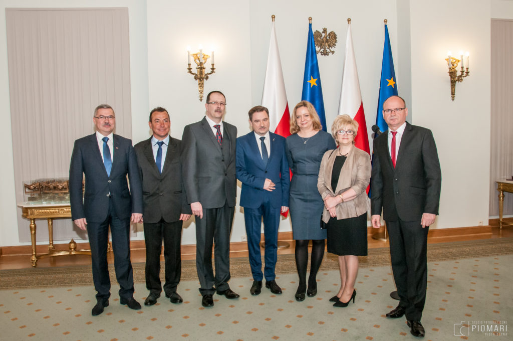 """…i z Przewodniczącym KK NSZZ """"Solidarność"""" Piotrem Dudą"""