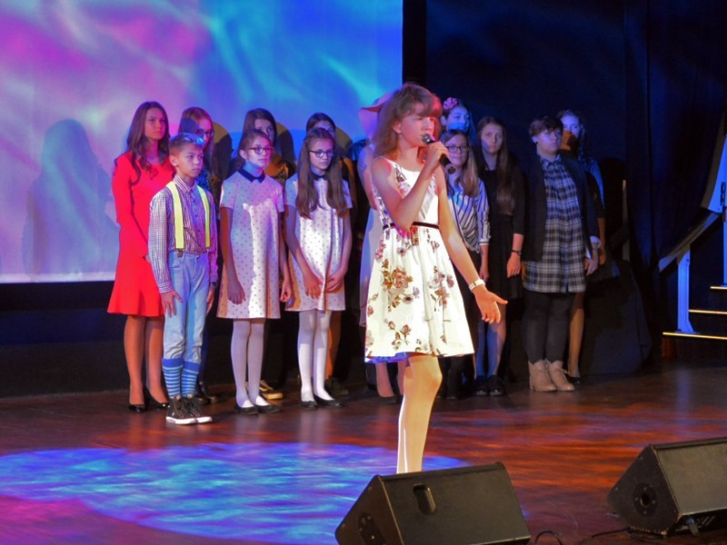 Zespół młodych kościerskich talentów